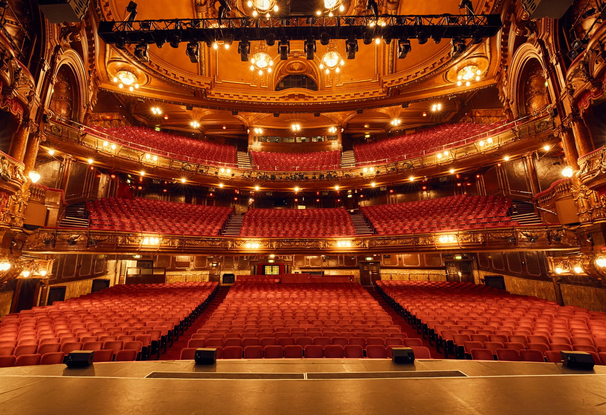 London Palladium from the stage