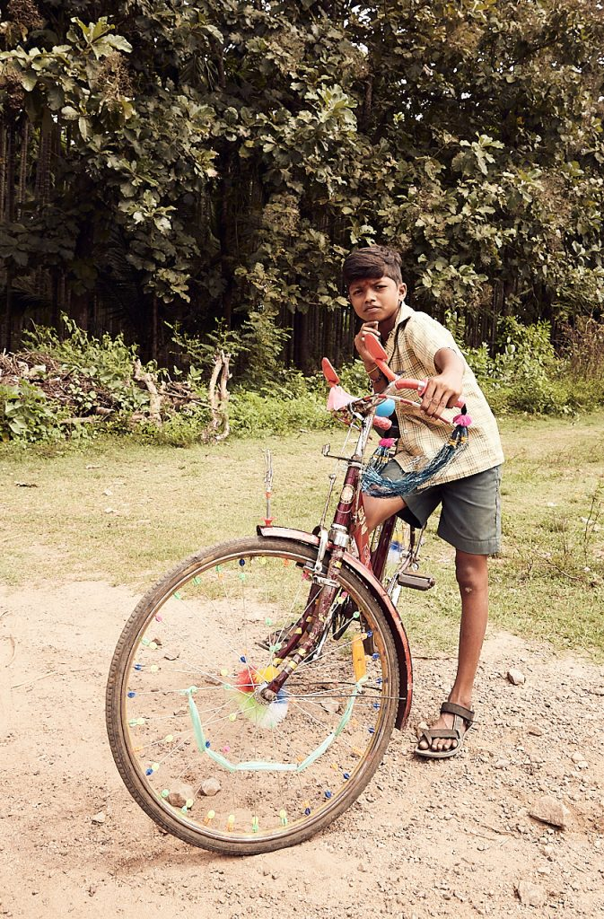 Boy on bike 2