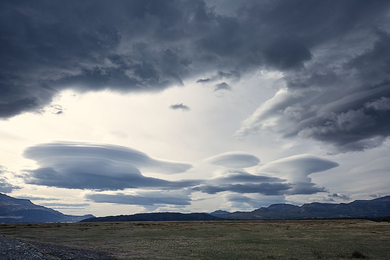 Patagonian cloud formation