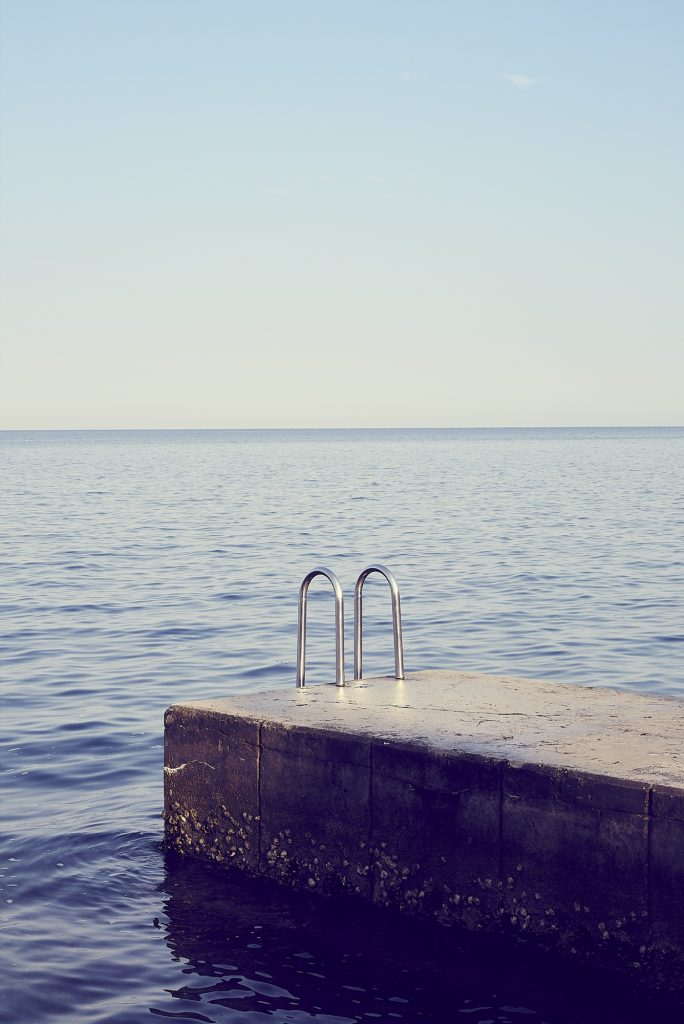 Steps into the Adriatic